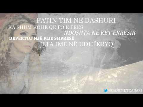 Ganimete Abazi Ganja - Hija e askujt (mp3 with lyrics)