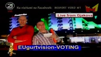 Show Meselation - Eugurtvision voting ne Kosove (humor) ne Video fest 2012